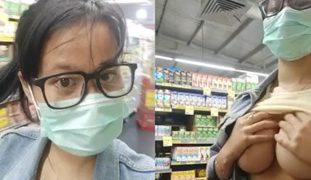 Vlogger Nag nude habang bumili ng Alcohol